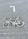 cycle way Stock Images
