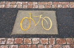 Cycle way Royalty Free Stock Photos