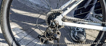 Cycle wheel system Royalty Free Stock Photography