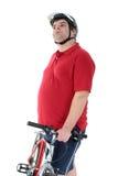 Cycler che tinking Fotografia Stock