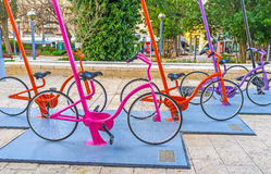 The cycles in Jerusalem Royalty Free Stock Photo