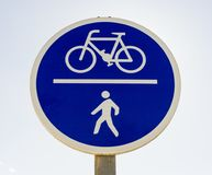 Cycles and peopie only Royalty Free Stock Photo