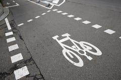 Cycleway Stock Photo