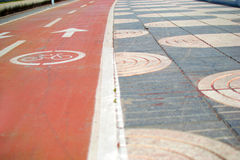 Cycleway Royalty Free Stock Images