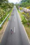 Cycleway oder offene Straßen in Medellin-Stadt Lizenzfreie Stockbilder