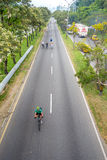 Cycleway oder offene Straßen in Medellin-Stadt Lizenzfreie Stockfotografie