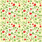 Cyclic Valentine background Stock Images