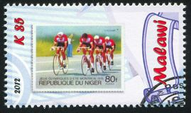 cycling Imagem de Stock Royalty Free