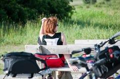 Cycling Royalty Free Stock Photo