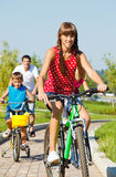 Cycling activity Stock Image