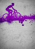 Cycling background Stock Images