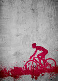 Cycling background Royalty Free Stock Photos