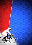 Cycling background Stock Photography