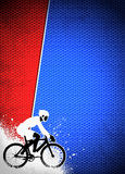 Cycling background Royalty Free Stock Image
