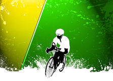 Cycling background Stock Photos