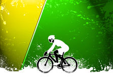 Cycling background Royalty Free Stock Photography