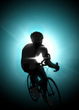 Cycling background Royalty Free Stock Images
