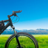 Cycling bicycle Royalty Free Stock Photography
