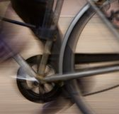 Cycling blur Stock Image