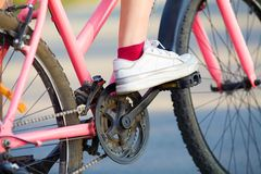 Cycling Royalty Free Stock Images