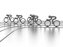 Cycling competition Royalty Free Stock Image
