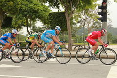 Cycling competition Royalty Free Stock Photo