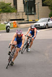 Cycling competition Royalty Free Stock Photos