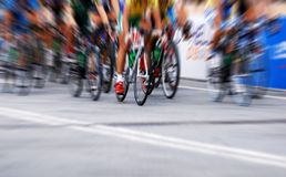 Cycling competition Stock Photography
