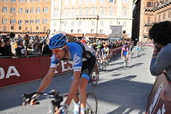 Cycling competition on 3rd March 2012 Royalty Free Stock Images