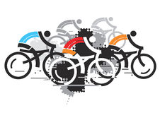 Cycling competition. Stock Photos