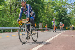 Cycling competition in stock photography