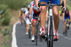 Cycling competition Stock Images
