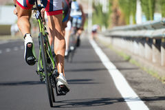 Cycling competition race Royalty Free Stock Images