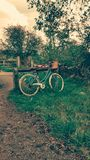 Cycling in the Country Royalty Free Stock Photos