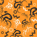Cycling decorative background Royalty Free Stock Photo