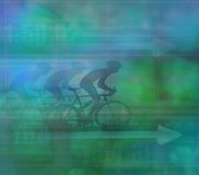 Cycling Design, dark Background Royalty Free Stock Photo