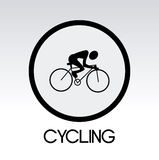 Cycling design Royalty Free Stock Photography