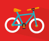 Cycling design Royalty Free Stock Photos