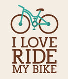 Cycling design Royalty Free Stock Images