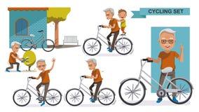 Free Cycling Elderly Stock Photo - 107618790
