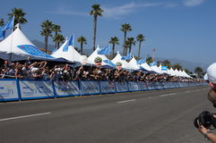 Cycling Fans 2013 Tour of California Royalty Free Stock Photo