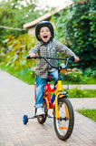 Cycling with fun. Stock Photography