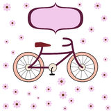 Cycling for girls Stock Images