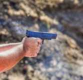 Cycling handgun Stock Photography
