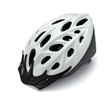 Cycling helmet Stock Photo