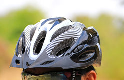 Cycling helmet for safety Stock Images