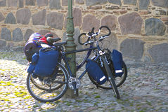 Cycling holiday Royalty Free Stock Image