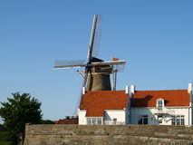 Cycling Holiday From Rotterdam To Brugge. Royalty Free Stock Photo