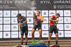 Cycling: Horizon Park Race Maidan in Kyiv, Ukraine Royalty Free Stock Photography