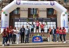 Cycling: Horizon Park Race Maidan in Kyiv, Ukraine Stock Photo